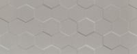 Настенная плитка Elementary grey hex STR 748x298 / 10mm