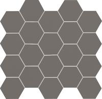 Настенная мозаика All in white / grey 306x282 / 10mm