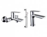 Промо-набор для раковины, ванны и душа 60100 + 60110 + 99627