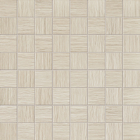 Настенная мозаика Biloba creme 324x324 / 10mm