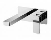 Смеситель Omnires Slide SL7715CR для раковины, скрытого монтажа, хром