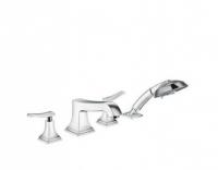 Смеситель Hansgrohe Metropol Classic 31441000 для ванны на 4 отверстия, хром