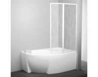 Шторка на ванну Ravak VSK2 Rosa 160 R Rain
