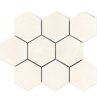 Напольная мозаика Factor Bianco Hex 300x300 mm