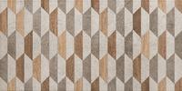 Настенный декор Dover graphite geo 608 x 308 mm