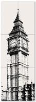 Настенный декор Big Ben 1 598x1798 / 10mm