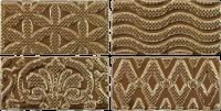 Настенный декор Jevel Gold 75 x 150 mm