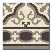 Универсальная плитка Cenefa Florentine white 200 x 200 mm