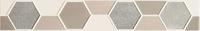Настенный бордюр Tango hex 448 x 71 mm