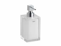 Дозатор для мыла белый Roca Ice, A816861009