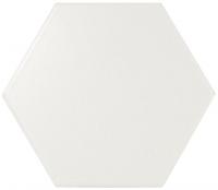 Настенная плитка Hexagono Liso White Mat 107 x 124 mm