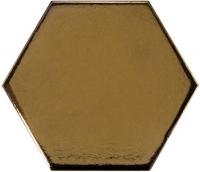 Настенная плитка Hexagono Liso Metallic 107 x 124 mm