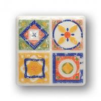 Настенный декор Quartet 4 115x115 / 8mm