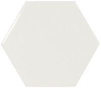 Настенная плитка Hexagono Liso White 107 x 124 mm