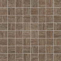 Настенная мозаика Biloba brown 324x324 / 10mm