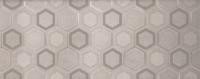 Настенный декор Tecido grey 748x298 mm