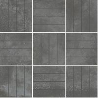 Универсальная мозаика Metro grafit B 300 x 300 mm