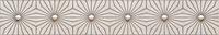 Настенный бордюр Sharox modern grey 608 x 98 mm