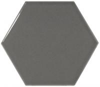 Настенная плитка Hexagono Liso Dark Grey 107 x 124 mm