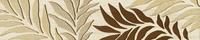 Настенный бордюр Pinia bez 360 x 74 mm