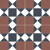 Напольная плитка Cardiff burdeos 450x450 (225x225) mm