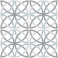 Напольная плитка Bosham White 450x450 (225x225) mm