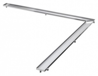 Решетка Tece TECEdrainline Plate 6 112 70 120х120 см под плитку угловая