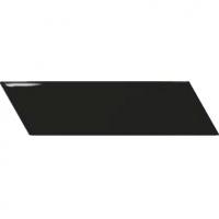 Настенная плитка Chevron Wall Black R 52 x 186 mm