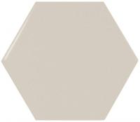 Настенная плитка Hexagono Liso Greige 107 x 124 mm