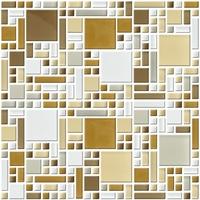 Настенная мозаика 8 mm, A-MGL08-XX-069
