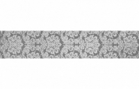 Alaska Tapeta grafit listwa 60x12, Polcolorit