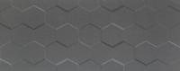Настенная плитка Elementary graphite hex STR 748x298 / 10mm