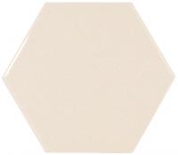 Настенная плитка Hexagono Liso Cream 107 x 124 mm