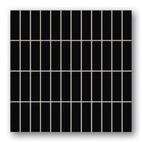 Настенная мозаика Oxford Black 298x298 / 10mm