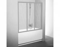 Шторка на ванну Ravak AVDP3-120 Rain, профиль сатин