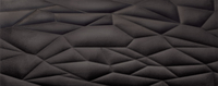 Настенная плитка Mitaka Black STR 748x298 / 10mm