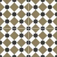 Напольная плитка Howard olive 450x450 (225x225) mm
