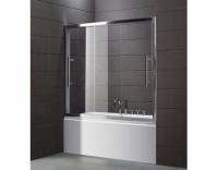 Шторка на ванну Cezares Trio V22 180/145 P Cr