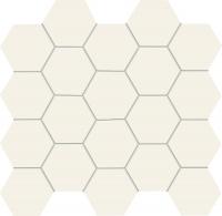 Настенная мозаика All in white / white 306x282 / 10mm