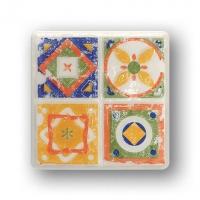Настенный декор Quartet 2 115x115 / 8mm