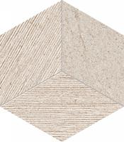 Настенная мозаика Balance grey STR 226x198 / 10mm