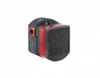 Скрытая часть электронного смесителя для раковины Kludi Zenta E 38002 питание от батарейки, регулятор температуры