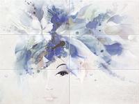Декор настенный Visage woman 898 x 673 mm