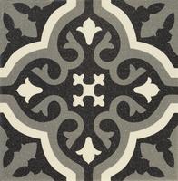 Универсальная плитка Centro Florentine black 200 x 200 mm