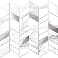 Настенная мозаика Carrara white plus 269 x 318 mm