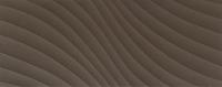 Настенная плитка Elementary brown wave STR 748x298 / 10mm