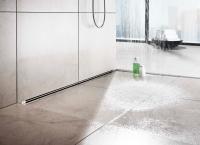 Душевой лоток встраиваемый в стену Viega Advantix Vario 736552 без решетки, 30-120 см