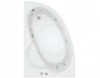 Гидромассажная ванна Poolspa Klio Asym 150x100 L Economy 1