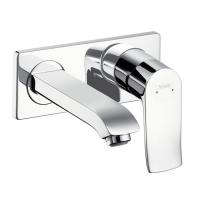 Смеситель настенный для ванны/умывальника Hansgrohe Metris 31085000