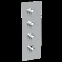 Смеситель для душа La Torre Newtech 12950 Multi 3, 3 режима, термостат